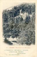 Luchon - Ascenseur De La Chaumière - Lithographie Imprimerie Labouche Frere - Prochainement Hebrard - Luchon