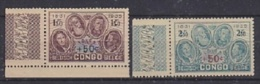 Belgisch Congo 1936 Gedenkteken Koning Albert 2w (+boord)  ** Mnh (24489) - Belgisch-Kongo