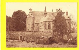 * Ecaussinnes Lalaing (Hainaut - La Wallonie - Charlerloi - Mons) * (Nels) Chateau, Kasteel, Chapelle Berceau, Rare - Ecaussinnes