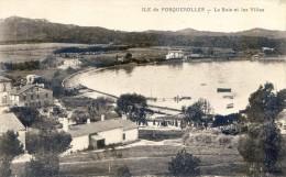 Ile De Porquerolles - La Baie Et Les Villas - France