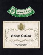 # GRUNER VELTLINER DRIMMEL SOOSS AUSTRIA  Wine Label Wein Vino Vin Etiquette Etiqueta Etikett - Etiketten
