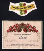 # ROSE´ SCHEUHAMMER St.MARGARETHEN AUSTRIA  Wine Label Wein Vino Vin Etiquette Etiqueta Etikett - Etiketten