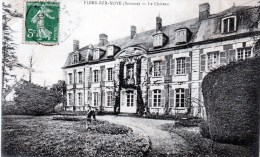 Flers-sur-noye.(somme) Le Château. - France