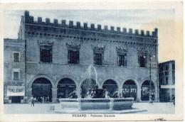 Marche-pesaro-pesaro Palazzo Ducale Veduta Animata Anni 20 - Pesaro