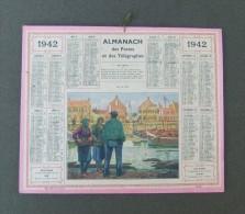 Almanach Des Postes Et Des Télégraphes - Année 1942 - Grand Format : 1941-60