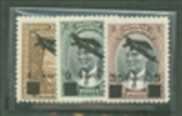 Turkey Scott # C9-C11 Set Of 3 (1941) MLH Catalogue $18.00 - Unused Stamps