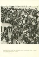 MANIFESTATION AVEC LES PAYSANS  MAINTIEN DES FORGES A HENNEBOT  MAI  1966 4/14  EPO PHOTO J. CHENU EN 1988 - Manifestazioni