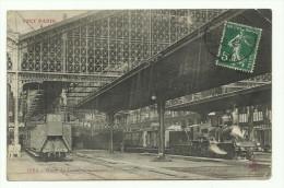75 PARIS GARE DE LYON COTE DEPART 1908 - Métro Parisien, Gares