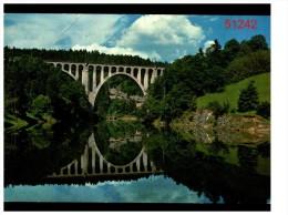 L'orbe Et Le Viaduc Du Day Pres De Vallorbe Et Ballaigues - Suiza
