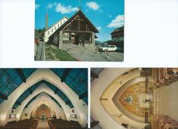 06 Alpes Maritimes (Péone Canton Vence) VALBERG  Lot De 3 Cartes-scan R/V 3 Cartes (Sanctuaire N D Des Neiges *PRIX FIXE - Vence