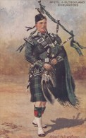 CP ECOSSE  SCOTCH PIPERS ARGYLL AND SUTHERLAND HIGHLANDERS BY HARRY PAYNE - Altri