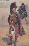 CP ECOSSE  SCOTCH PIPERS BLACK WATCH FULL DRESS BY HARRY PAYNE - Altri
