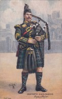 CP ECOSSE  SCOTCH PIPERS SEAFORTH HIGHLANDERS BY HARRY PAYNE PIPE MAJOR - Altri