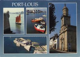 PORT LOUIS  - Porh Loeiz, Sinagot Au Pied Citadelle, Port Locmalo, Église St Pierre, Citadelle (GC1-745) Neuve - Port Louis