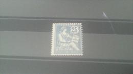 LOT 270725 TIMBRE DE FRANCE NEUF* N�127 VALEUR 110 EUROS