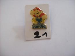 """PIN´S - SEGA Sonic  Super Mario """" Pub Candia  """" -   Voir Photo (21) - Spelletjes"""