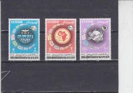 SUDAN  1974 - Yvert  275/77** - Centenario UPU - Soudan (1954-...)