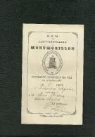 Distribution Des Prix Petit Séminaire Montmorillon 26 Juillet 1888 2ème Prix Instruction Religieuse - Religión & Esoterismo