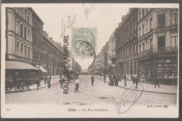 59 - LILLE --rue Nationale-animé---Précurseur - Lille