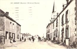 53 GRAZAY Arrivee Par Mayenne - Autres Communes