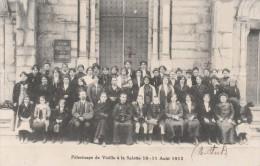 VIZILLE : Pélerinage à La Salette ( 1912 ) - Vizille