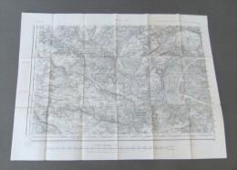 Carte Du Service Géographique Des Armées Numéro 48 - Paris Sud-Ouest - Année 1930 - Landkarten