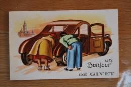 6194/ Un Bonjour De GIVET - Givet