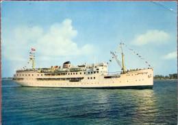 PK - Passagiersschip MS Nordland - Travemunde Kopenhagen Halsingborg - Piroscafi