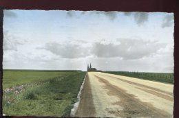 CPSM 28 CHARTRES A Cathédrale Côté Sud Vue De La Route D'Ablis Route De Péguy - Chartres