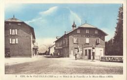 CP - Hotel De La Faucille Et Le Mont Blanc - Hotels & Restaurants