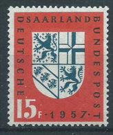 Saar 1957 Nuovo** - Mi.379 - 1957-59 Federazione