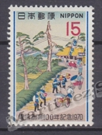 Japan - Japon 1970 Yvert 994, Centenary Of The Telegraph - MNH - 1926-89 Emperor Hirohito (Showa Era)