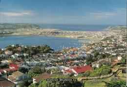 J-EVANS BAY-WELLINGTON-NEW ZEALAND-PANORAMA - Nuova Zelanda