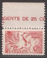 ES952BH-LB4168TANMAMCAB.España  Spain Espagne PEGASO SIN PIE DE IMPRENTA  1939 (Ed  952**)sin Charnela. - Caballos