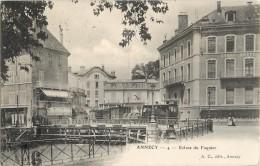 Annecy 74 Haute Savoie  écluse Du Paquier   Tramway  Thônes  A.C. - Annecy