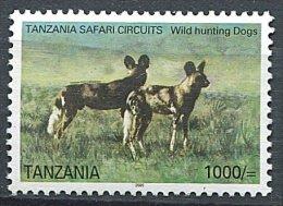 (cl 6 - P.60) Tanzanie **  Tbre Du Bloc N° 519 (ref. Michel Au Dos) - Lycaon - - Tanzania (1964-...)