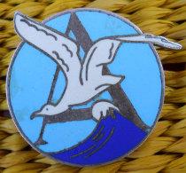 RARE insigne Marine Contre-torpilleur l'Albatros 1r mod�le �maill� Dans son jus Fabric Augis Lyon � nettoyer d'un ancien