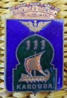 RARE insigne Marine BAN Base a�ronavale Bizerte Dans son jus Fabric  Coutois Paris � nettoyer souvenir d'un ancien