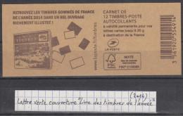 """Carnet De 12 TVP Ciappa Verts  Couverture """"Livre Des Timbres De L´année"""" (2014) - Carnets"""