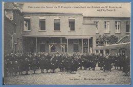 BELGIQUE -- HERENTHALS - Pensionnat Des Soeurs De St Francois - La Cour - Herentals