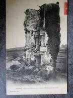 COURS - Dernières Ruines Du Château D'Esthieugues En 1882 69 Pour Artemare 1907 - Castles