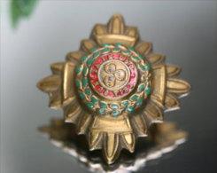 Vintage TRIA JUNCTA IN UNO, WWII Officers Stars PIPS WW2 WORLD WAR 2� GUERRE MONDIALE 39-45 BRITISH BADGE