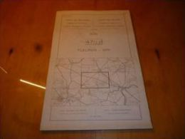 CB6 Carte Institut Fleurus Spy Brye St Amand Sombreffe Baulet Bothey St Martin Onoz Temploux Beuzet Isnes Bossière - Geographische Kaarten