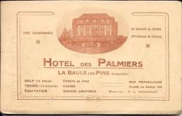 """44 La BAULE Les Pins HOTEL """" Les Palmiers """" Carnet 12 Vues - Hotels & Restaurants"""