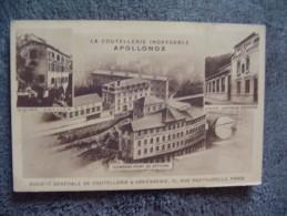 CPA Paris Coutellerie Inoxydable Apollox & Orfèvrerie Usines Du Pont De Seychal,Gonon;Sallien - Altri Monumenti, Edifici