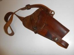 WW2 Holster US Colt 45 De Poitrine Tankiste - Decotatieve Wapens