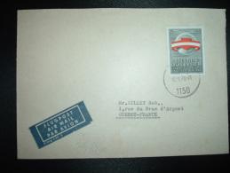 LETTRE PAR AVION POUR LA FRANCE TP 3 50 S OBL. 16.1.70 WIEN - 1945-.... 2nd Republic
