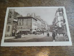 CPA De Versailles - 105, Rue De Satory - Carte Animée Side Car Et Voitures Anciennes, Boutiques, Etc..... - Versailles