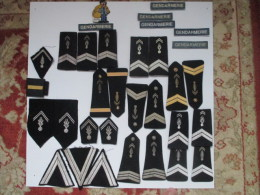 Insignes Tissu Gendarmerie - Police & Gendarmerie