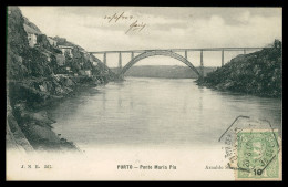 PORTO -Ponte Maria Pia ( Ed. Arnaldo Soares Nº 367) Carte Postale - Porto